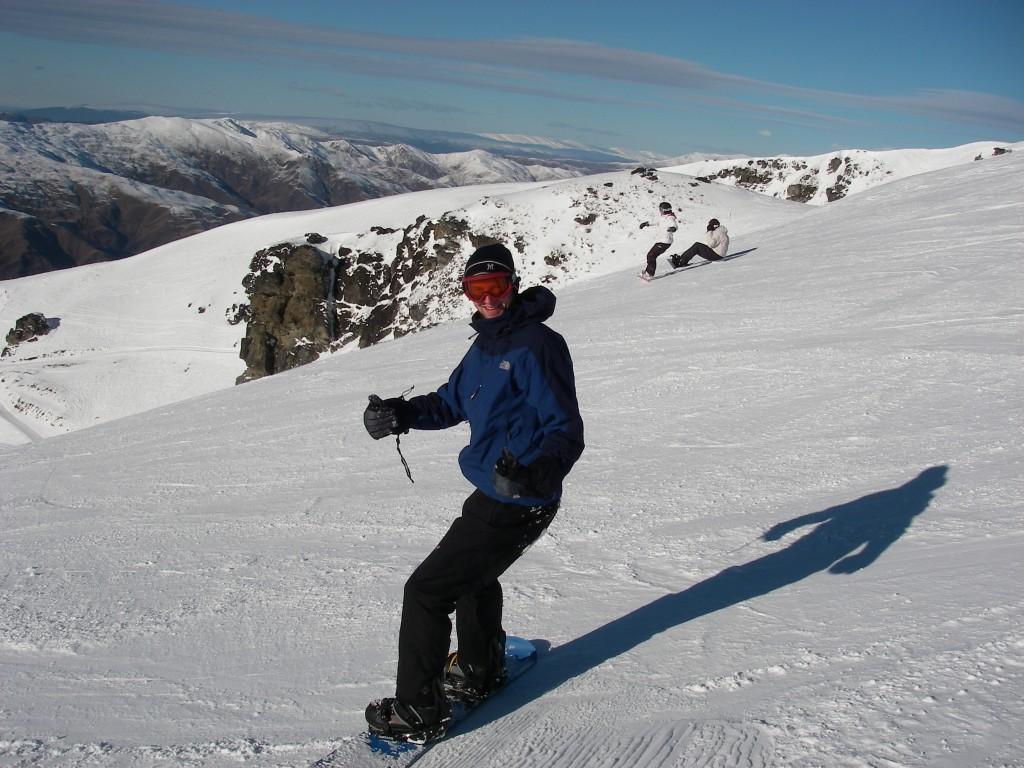 Queenstown Snowboarding